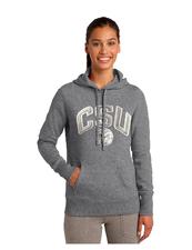 CSU Ladies Grey Pullover Hoodie